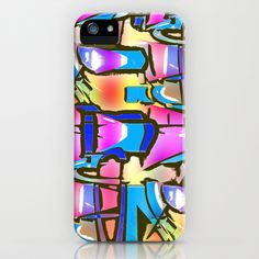 #Abstract Digital Fun #Phone & iPod Case by Rokin #Art by #RokinRonda - $35.00 @Society6