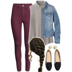 Spencer Hastings inspired outfit by liarsstyle on Polyvore featuring polyvore, fashion, style, Uniqlo, H&M, Kenneth Jay Lane, fair and WF