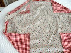 La casita de Rosa: Tutorial bolsa de costuras Lingerie, Sewing Accessories, Cosmetic Bag, Craft Projects, Patches, Shirt Dress, Purses, Knitting, Pattern