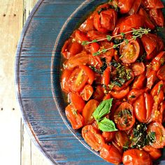 "Oven Roasted Grape Tomatoes I ""This was terrific! So easy and so delicious."""