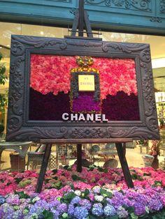 Chanel flowers, Bellagio, Las Vegas