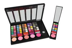 Inovative palette with movable piеces. 78 colors - eyeshadows, blush and lipstick. Give an opportunity for single usage of one color piece of the whole palette at the same time. Promotional price €23.01