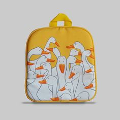 Excited to share the latest addition to my #etsy shop: Rybka - Small Backpack 2-3 Years, Kids Backpack, Toddler Bag, Preschool Kids, Playgroup bag, Goose http://etsy.me/2CIkiqA #bagsandpurses #backpack #orange #kids #toddlerbag #preschoolkids #playgroupbag #gift #birth