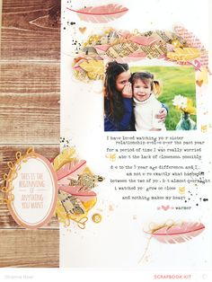 #papercraft #scrapbook #layout Anything YOU want it to be.. *MAIN KIT* by ShannaNoel at @Studio_Calico