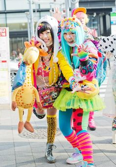 Harajuku Girl in the Group Board ♥ HARAJUKU (JAPANESE FASHION) http://www.pinterest.com/yourfrenchtouch/harajuku-japanese-fashion
