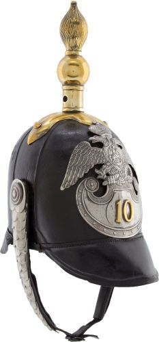 Imperial Russian 10th Infantry Regiment Spiked Helmet....