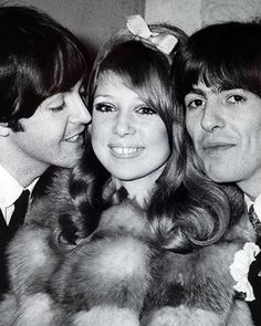 A BEATLES SANDWICH Paul McCartney added an honorary member to the band at George Harrison and Patti Boyd's wedding.