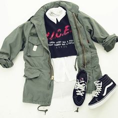Fall is coming… Time to layer up! Www.Karmaloop.com — Use repcode: ABUSE for 20% discount! #karmaloop #ootd