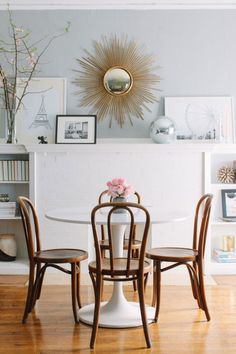 23 Dining Rooms That Will Dazzle You via Brit + Co