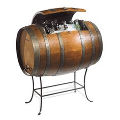 Wine Barrel Cooler from Lonestar Western Decor
