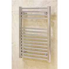 Heated Towel Rail Straight Chrome 450x1430mm