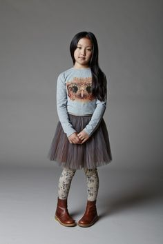 Easy to wear with strong graphic details, girlswear from Angel and Rocket fall/winter 14