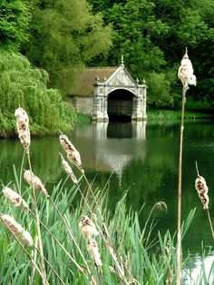 bellasecretgarden: Boathouse, Burghley House, Stamford, Lincolnshire, England (Roger Ward) — FUCKITANDMOVETOBRITAIN