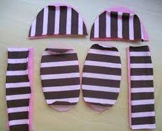 Resultado de imagem para moldes de sapatinho de bebe menino