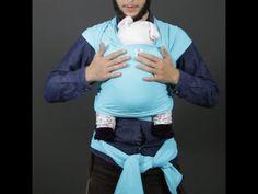 Seis formas de amarrar um sling para levar o bebê - Nexo Jornal