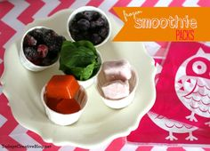 Frozen Smoothie Packs- Today's Creative Blog #smoothies #ideas