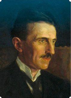 Nikola Tesla - Retrato azul Pregunta interesante, Sr. Smith, y voy a tratar de darle la respuesta adecuada.