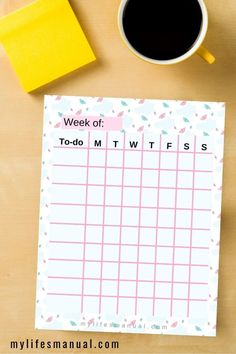 Grab these free to-do list printables. It is a weekly planner printables to help you organize your daily schedule, routines and to-do list. It is perfect to improve your time management and productivity. #planner #printables #freedownload #todolist #productivity #timemanagement