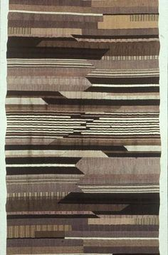 Gunta Stölzl: Form and Color German textile artist (and sole female Master of the Bauhaus) Gunta Stölzl created beautiful weavings of color...
