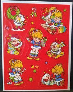 Cartoon Toys, Cartoon Tv Shows, 1980 Cartoons, Rainbow Brite, Christmas Stickers, Transparent Stickers, Childhood Memories, 1980s Childhood, Vintage Toys