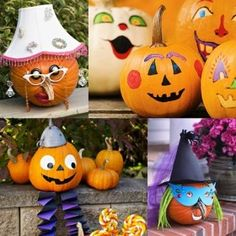 Ideas para decorar calabazas de Halloween