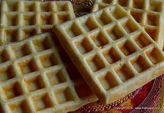 Gofre belgiene - reteta de baza Cookie Recipes, Waffles, Cookies, Breakfast, Foods, Recipes For Biscuits, Biscuits, Morning Coffee, Food Food