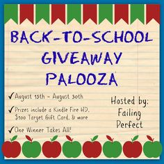 .Back to School Giveaway Palooza #BloggersWanted #signup #bloggeropps #blogging