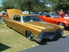 Slammed Cadillac