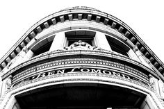 Hotel. Ogden Utah. Black and white. High Contrast. Photo by Harvey Brand Imagery