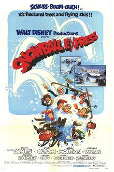 Snowball Express (1972) My family laughed so hard in the theatre watching this when it came out, it is just not the same on TV.