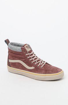 Sk8-Hi MTE DX Brown  amp  Tan Shoes Tan Vans ee1306623