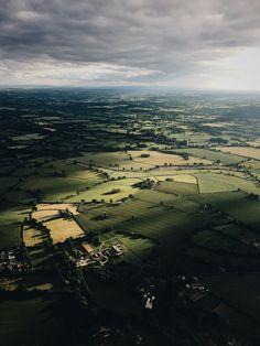 Flying above West Midlands by YordanDim http://flic.kr/p/V2ih4U