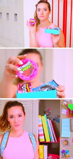 Keep a Snack Pack | 15 DIY Locker Organization for School Girls