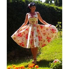 Pinup Dress Strawberry Cream Sweet Lolita Collection Strawberry... ($120) ❤ liked on Polyvore