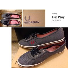 adce26e10a2fd8 Shopping day today~  ) Fred Perry Shoes ❤️