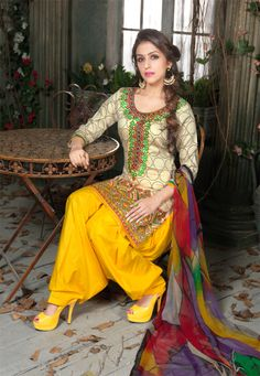 Lovely Fashionable Embroidery Designer Online Party Wear #Salwar Suit
