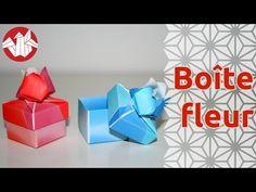 Origami - Boite Fleur - Flower Box [Senbazuru] - YouTube