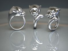 Panther Ring - T-Splines Studio Desing, Panther Ring, Napkin Rings, Decor, Decoration, Decorating, Napkin Holders, Deco