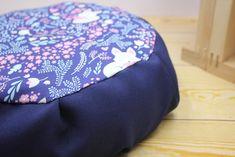 "12 ""in Meditation cushion Zafu cover UNFILLED Fox floor pillow - Modern"