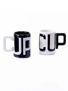 Typography Coffee Mugs