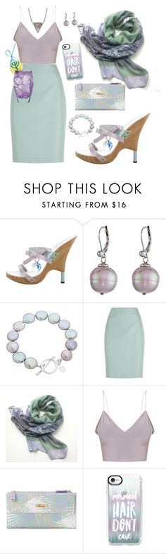 """Untitled #317"" by traceyenorton ❤ liked on Polyvore featuring Giuseppe Zanotti, Majorica, Claudia Bradby, Armani Collezioni, Buxton, Casetify and ADORNIA"