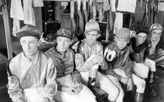 19 Vintage Kentucky Derby Photos to Get You Excited for the Big Day -Kentucky Derby jockeys at Churchill Downs, 1937