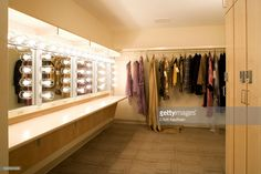 Photo : Dressing room in David H. Koch Theater at Lincoln Center, New YorkStock Photo : Dressing room in David H. Koch Theater at Lincoln Center, New York Thank you so much for your video of our Diaz Hollywood Mirror Dressing Room Mirror, Dressing Room Design, Dressing Rooms, Dressing Table, Show Bar, Photos Of Dresses, Lincoln Center, Green Rooms, Storage Room