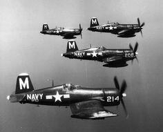 Navy f4u Corsairs.