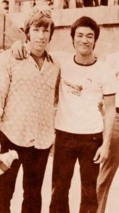 Chuck Norris ve Bruce Lee