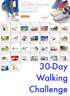 Step Into Shape with the 30-Day Walkabout Challenge! | via @SparkPeople #fitness #exercise #workout #plan #walking