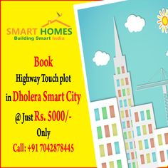 Buy 1 Plot & Get 1 Free in #Dholera smart city. Book @ Just Rs. 5000/- at Zero Down Payment. http://bit.ly/1N72Kk0