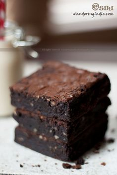 Vegan Gluten-Free Brownies | Flickr - Photo Sharing!