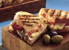 Grilled Turkey Panini Sandwich