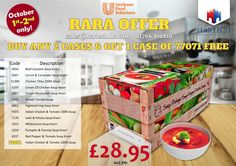 Unilever Food Solutions Ra Ra Offers Flyer